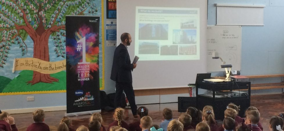 We learned about the construction business with Josh from Wates